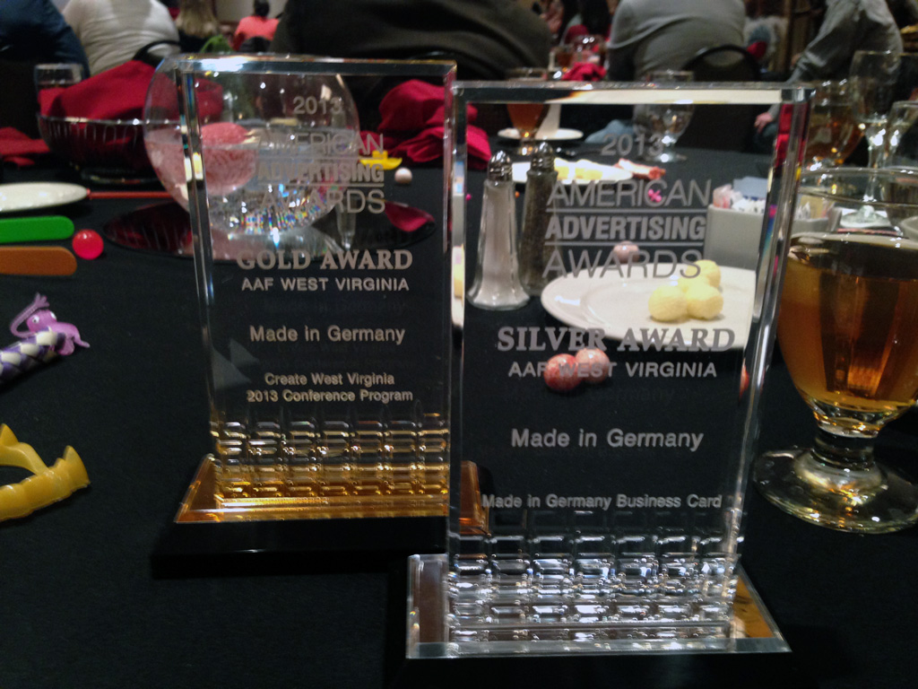 MiG won silver and gold AAF awards for 2013